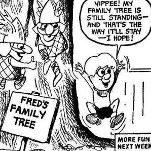 Fred's family tree