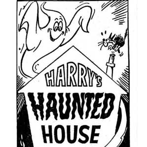Harry's haunted house